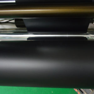 Rigid Frosted Black PVC 0.35mm Rolls for Screen Printing pictures & photos