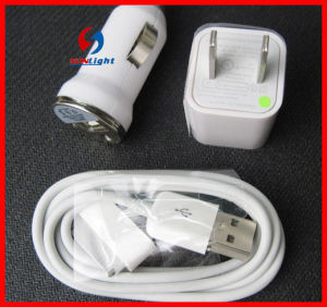 3in1 5V 2.1A USB Wall Charger Adapter for iPhone6 Charging pictures & photos