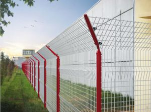 SGS Pass PVC Coated Wire Mesh Fence (s-003 all color available)