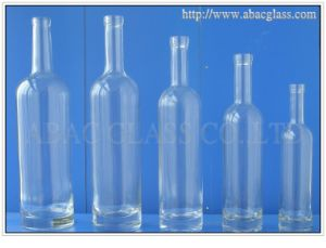 Super Flint Glass Bottle with Available Molds pictures & photos