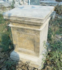 Antique Stone Pedestal, Stone Column, Marble Base pictures & photos