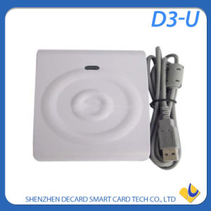 Portable Smart IC Contactless Card Reader D3-U pictures & photos
