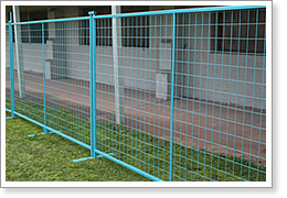 Safety PVC Coated Wire Mesh Fence