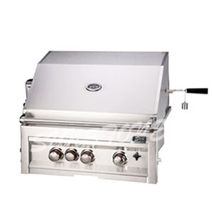 Outdoor Gas Grill 3-Burner with Rear Burner and Rotisserie (SUN3B-IR)