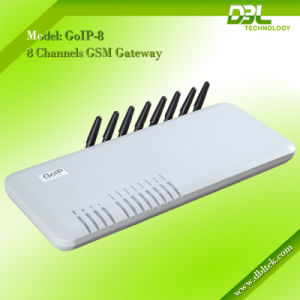DBL 8 Channels GSM VoIP Gateway With 8 SIM Card GoIP-8 pictures & photos