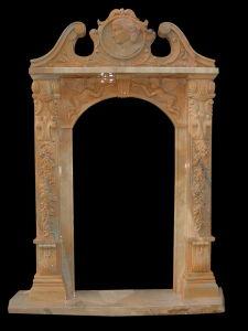 Marble Carved Doorway, Door Frame (DF320) pictures & photos