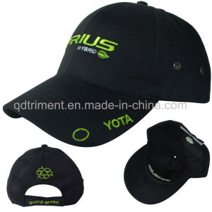 Heavy Brushed Cotton Twill Embroidery Golf Sport Cap (TRB109) pictures & photos
