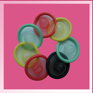 Disposable Colorful Latex Male Condom pictures & photos