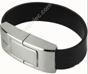 Leather Bracelet USB Flash Drive Disk Wristband (UL03) pictures & photos