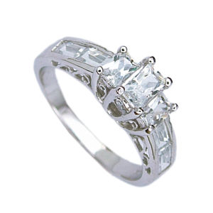 925 Silver Jewelry Ring (210949) Weight 3.7g