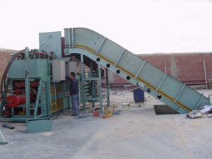 Automatic Baler for Waste Paper and Cardboard with Conveyor pictures & photos