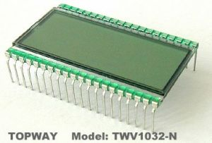 Tn LCD Display Segment Type LCD Panel (TWM1302-W) pictures & photos
