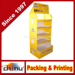 Paper Corrugated Board Pallet Display (6136) pictures & photos