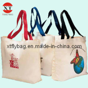 Canvas Shopping Tote Bag (XTFLY00051) pictures & photos