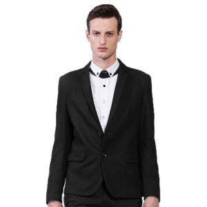 2016 Men Unique Taste Black Tuxedo Dress Suits pictures & photos