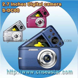 2.7 Inches 12.0 MP Digital Camera, 8x Zoom, AV out, 7.0 MP CMOS (S-DC60)