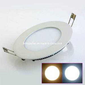 3W/4W/6W AC85V~265V Round LED Panel Light (MB0007)