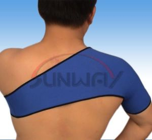 Comfortable Neoprene Single Shoulder Support (NS0007) pictures & photos