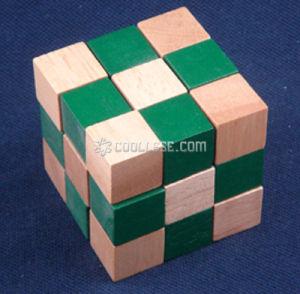 Wooden Puzzle/Magic Cube-Wp1008a