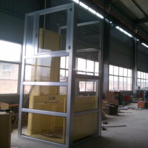 Vertical Hydraulic Lift Table, Home Lift pictures & photos