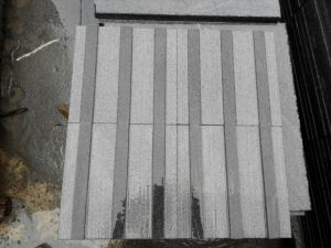 Parallel Grooving Polka DOT G654 Grey Granite Blind Stone Paving pictures & photos