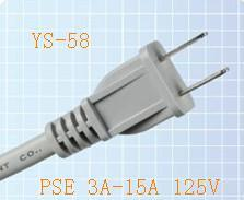 Power Cord Plug for Japan (YS-58) pictures & photos