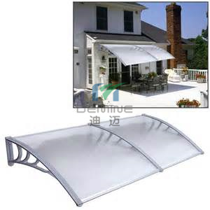 1200 * 1200 Aluminum PC Awning Canopy with Polycarbonate Solid Sheet pictures & photos