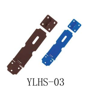Assoried Colour Iron Hasps & Staple (YLHS-03)