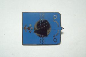 Imitated Enamel Pin Badges Metal Badges Silver Badges