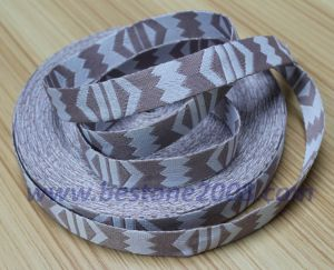 High Quality Polyester Jacquard Webbing for Bag1312-10 pictures & photos