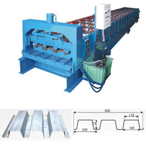 Steel Tile Roll Forming Machine (75-200-600)
