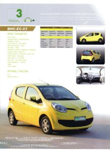 Electric Car (BHC03)