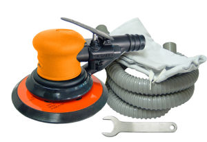 "6 "" (150mm) or 5 "" (125mm) Composite Air Orbital Sander pictures & photos"