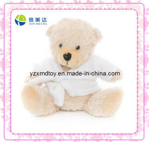 Cute Plush Towel Teddy Bear Toy (XDT-0189) pictures & photos