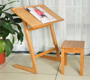 Cheap Bamboo Occassional Folding Desk for Furniture pictures & photos