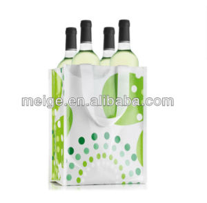 Wholesales Customized Wine Paper Bag with Handle (MECO485) pictures & photos