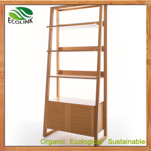 Bamboo Bookcase Storage Rack (EB-B4168) pictures & photos