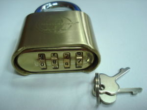 Combination Padlock, Brass Combination Padlock, Padlock (AL-B50) pictures & photos
