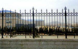 China High Quality Ornamental Cast Iron Fence pictures & photos