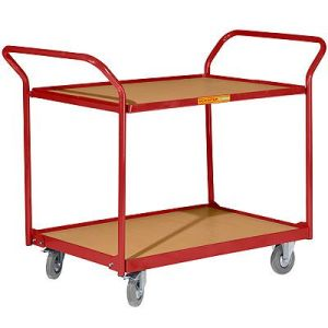 Double Hnadrail and Platform Table Trolley (882011)