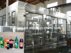 Pet Bottle Gassed Water Filling Machine pictures & photos