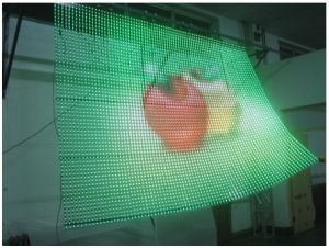 High Transparency Flexible LED Screen for Glass Wall pictures & photos