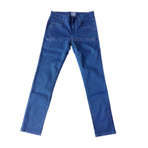 Sale Dark Blue Fashion Men Trousers (CFJ057)
