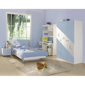 Bedroom Furniture, Kid′s Furniture, Bedroom Set, Night Stand, Cloth Wardrobe, Storage Wardrobe, Bed Stand, Wardrobe Closet, Table, Desk Wj277356 pictures & photos