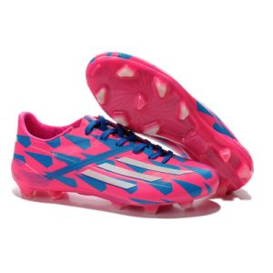 Wholesale Rose Pink Football Shoe Men pictures & photos