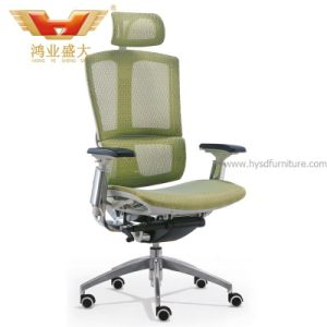 Adjustable Headrest High Back Mesh Office Chair (HY-99A) pictures & photos