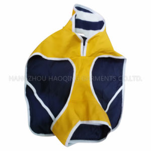 Yellow PU Raincoat for Pet pictures & photos