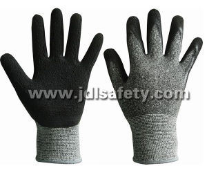 Form Latex Work Glove with Knitted Wrist (LCS3019B) (CE APPROVED) pictures & photos
