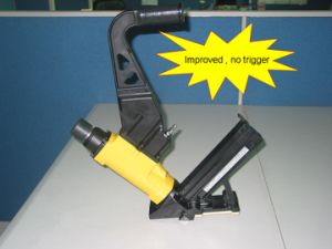 2 in 1 Flooring Assembling Stapler, New Model Trigerless (2 in 1-TRIGERLESS) pictures & photos