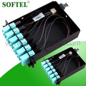 Fiber Optical Om3 MPO Cassette /MTP - LC 12f Om3 Cassette pictures & photos